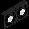 X Stream Designs - X-HIGH-CFM - Optional High CFM Circulation Fans Move 32 Cubic Foot Per Minute