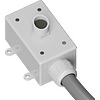 X Stream Designs - XML-MIC - Mic Level Input Outdoor Omni-Directional Microphone With Non-Metalic Flex Conduit