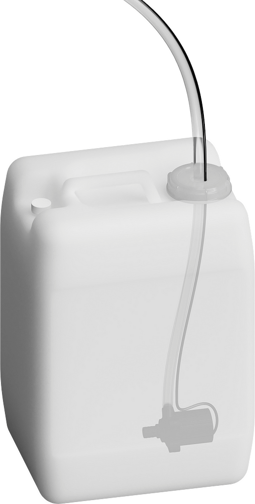 X Stream Designs - X-AUX-RESERVOIR - Optional External Auxiliary Fluid Reservoir Provides Over 11 Times More Dome Washing Fluid for The XClear Model Enclosure. Ideal for Installation Locations Tough To Get To Or In Remote Areas.