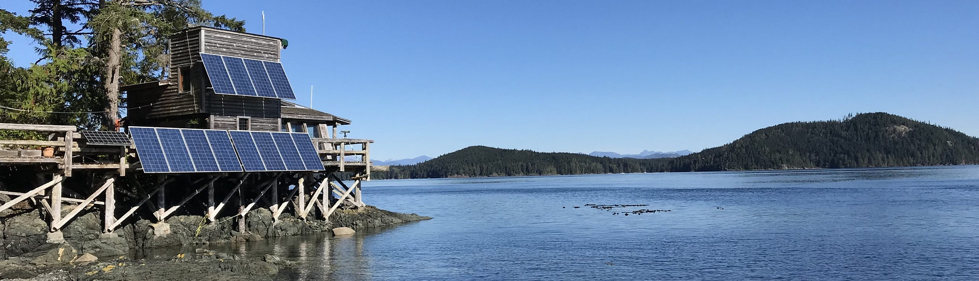 XRain Self Wiping Camera Enclosure System Installed At Orcalab On Hanson Island Orcalab Overlooking Resident Orcas In British Columbia Canada