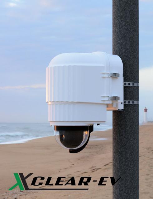 x stream designs xclear ev camera enclosure system in the elements