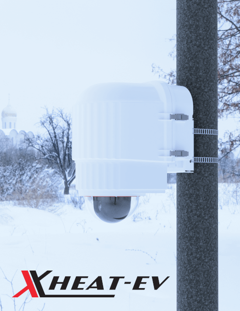 x stream designs xheat ev camera enclosure system in the elements