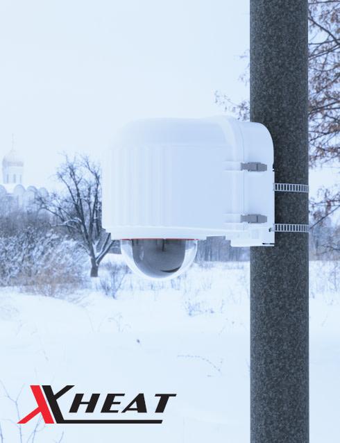 x stream designs xheat camera enclosure system in the elements