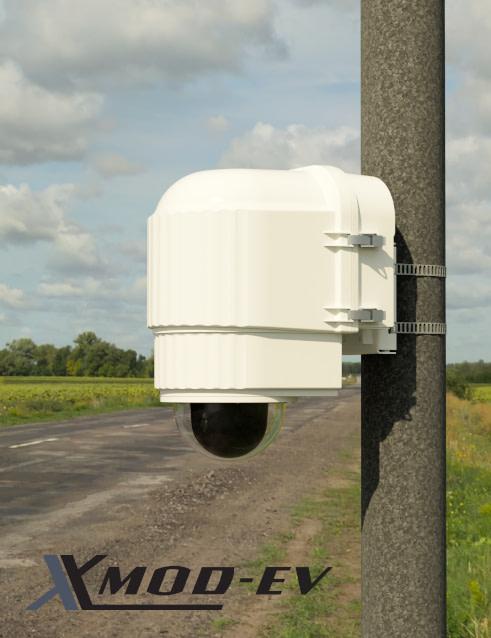 x stream designs xmod ev camera enclosure system in the elements