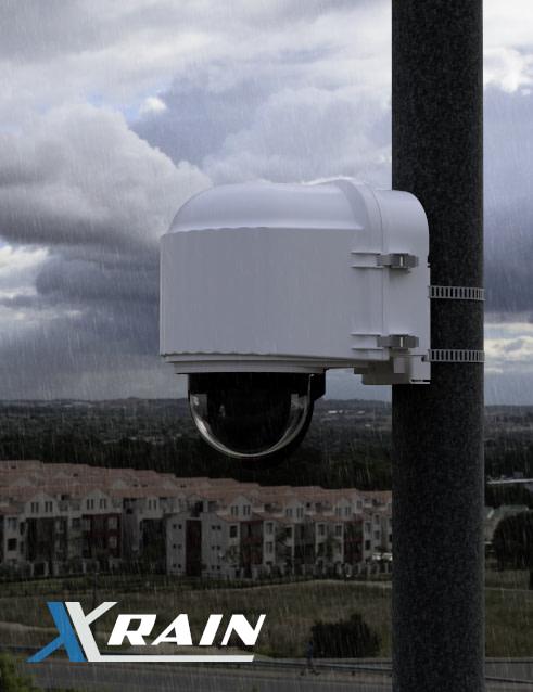 x stream designs xrain camera enclosure system in the elements