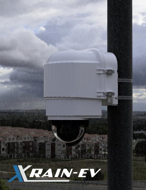 x stream designs xrain ev camera enclosure system in the elements